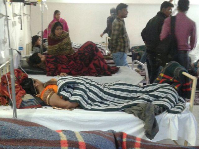 बिहार : विषाक्त भोजन खाने से 100 बीमार