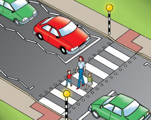 नियम तोड़ने पर पैदल यात्री को लगेगा 50 का फटका
