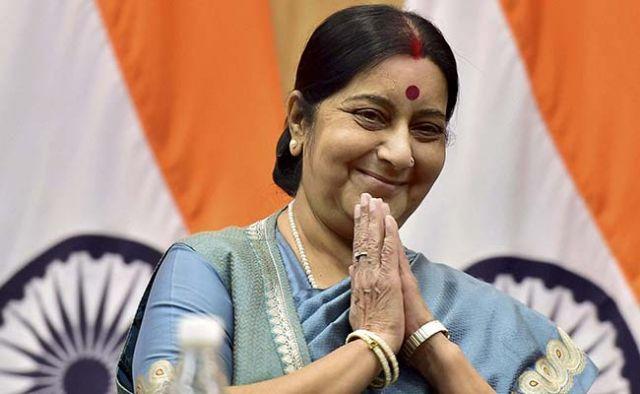वैलेंटाइन डे के दिन प्रधानमंत्री नरेंद्र मोदी ने सुषमा से कहा ऐसा