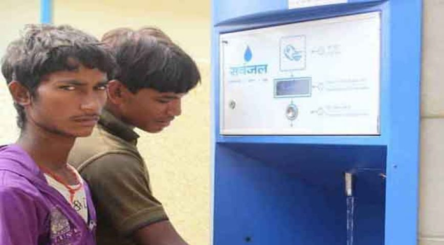 दिल्ली की गर्मी में प्यास बुझाएंगे 'वाटर एटीएम'