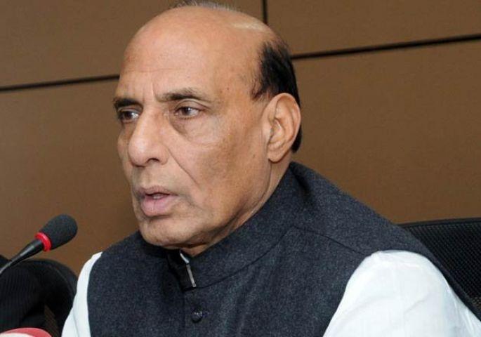 JNU विवाद पर बोले राजनाथ : न्यायालय के फैसले की प्रतीक्षा की जानी चाहिए