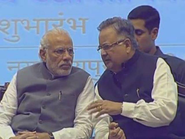PM मोदी पहुंचें छत्तीसगढ़, किया अटल आवास मिशन का शिलान्यास