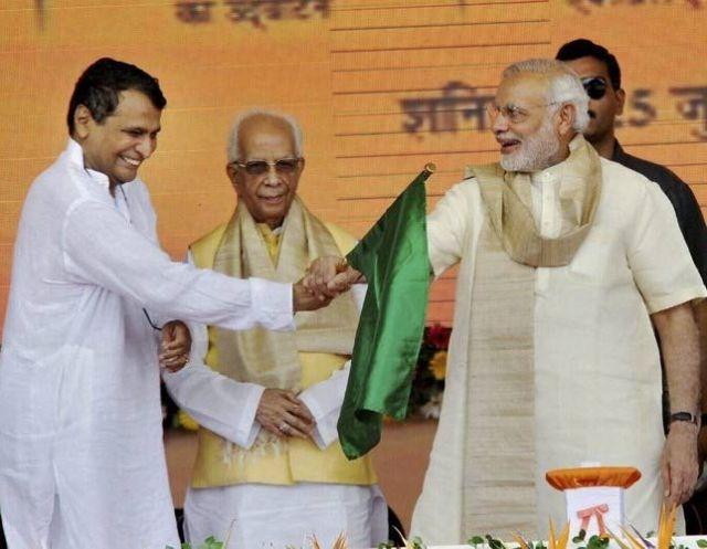 PM मोदी ने की रेल बजट के लिए सुरेश प्रभु की सराहना