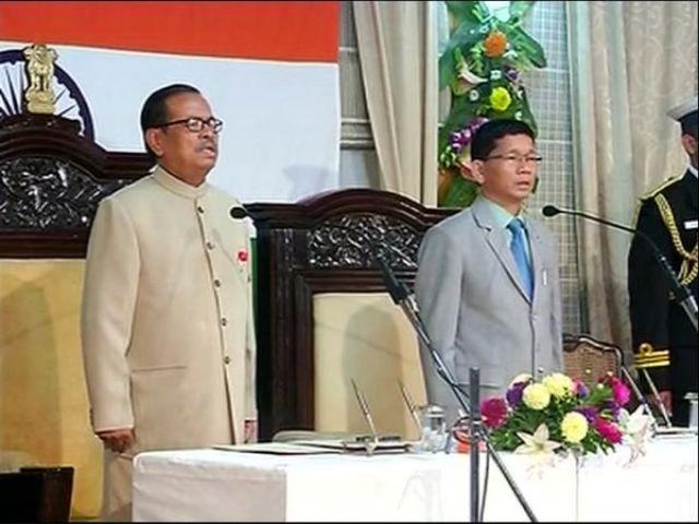 पुल ने साबित किया बहुमत का पुल, लेवांग बने विधानसभा अध्यक्ष