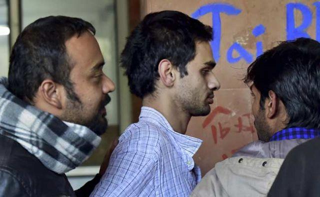 JNU में देशविरोधी नारे के आरोपी छात्रों की पुलिस रिमांड ख़त्म,पेशी आज