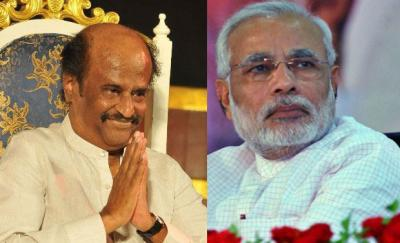 BJP will win 300+seats on its own: Rajinikanth