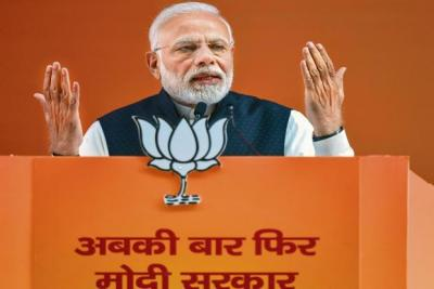 PM Narendra Modi will hold three election rallies today