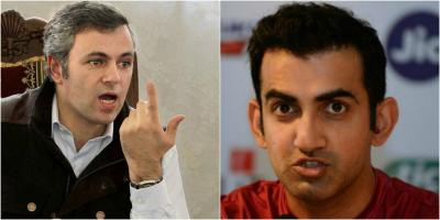Omar Abdullah and Gautam Gambhir bark tweet at each other…read inside