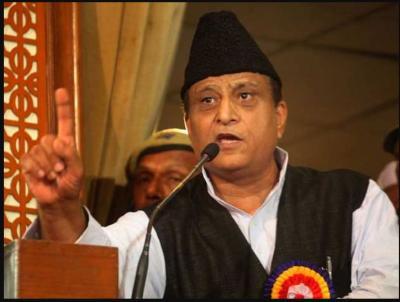 EC cut off my tongue, but no action against Yogi and Naqvi: Azam Khan
