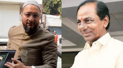 Telangana Congress lashes out on Asaduddin Owaisi and CM KCR