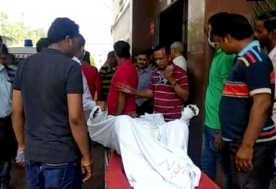 RSS worker sets himself ablaze in Jaipur