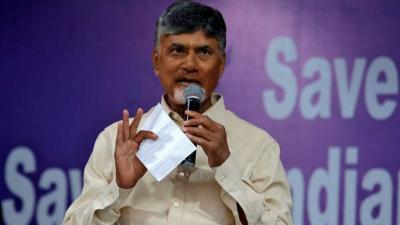 "Andhra CM Chandrababu Naidu calls Jagan KCR as ""Pet Dog of Modi"""