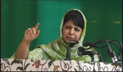 PDP had no option to drink a cup of poison by joining hands with BJP: Mehbooba Mufti