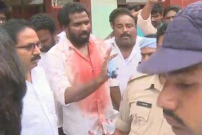 Bloody clashes between TDP, YSR Congress workers across Andhra