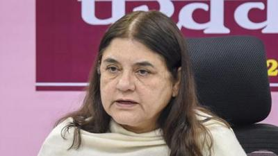 Maneka Gandhi gets notice for threating muslim voters