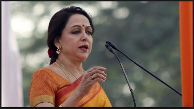 BJP Member Hema Malini rebuke Menka Gandhi statement on muslim voters