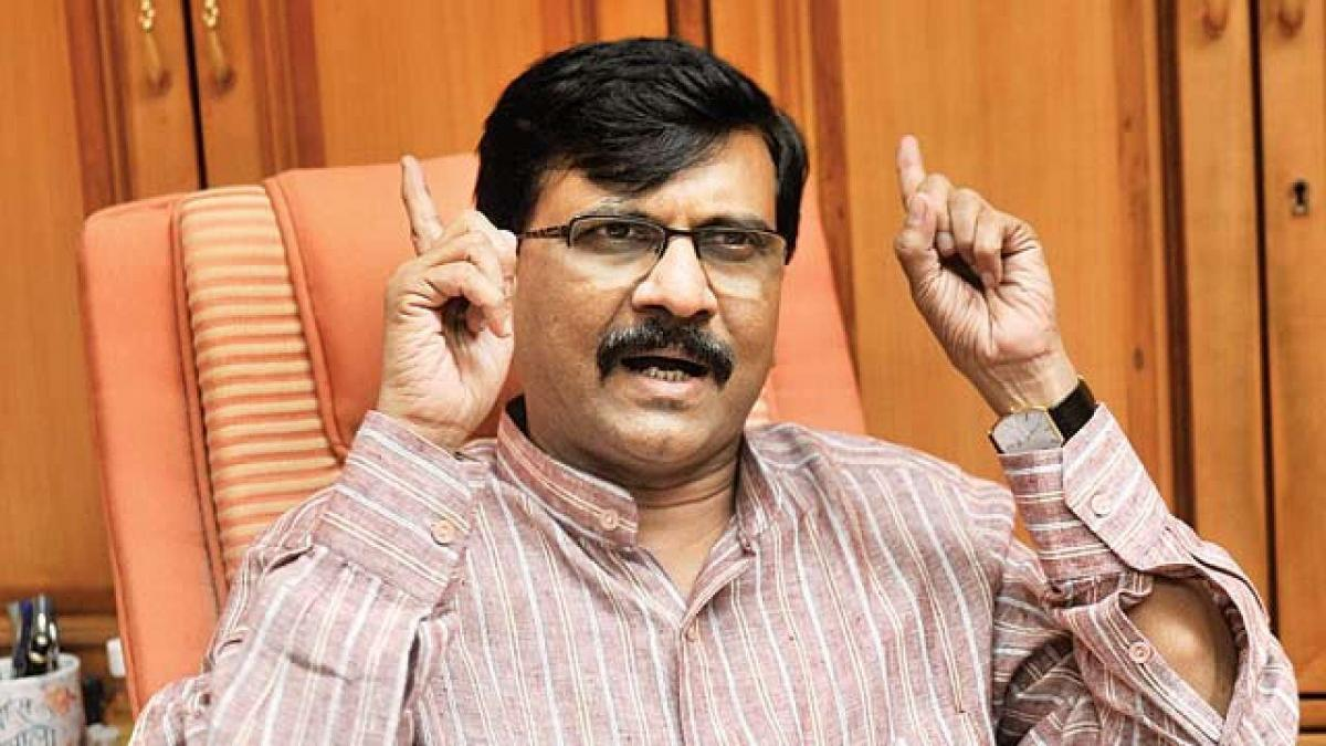 Shiv Sena's Sanjay Raut mocks Election Commission, says Bhaad mein gaya Kanoon