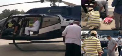 Election Commission team searched BS Yeddyurappa's luggage