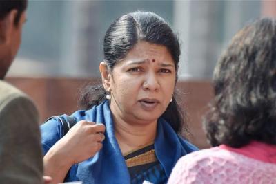Kanimozhi lashes out at Narendra Modi, says 'PM Modi using EC to threaten us'