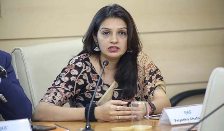Congress's Priyanka Chaturvedi quits the party