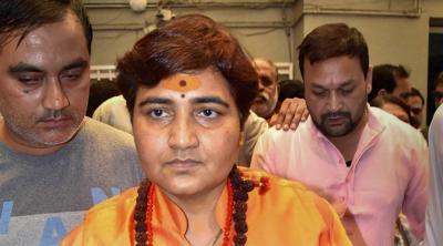 Sadhvi Pragya insults 26/11 hero Hemant Karkare, says he died of his karma