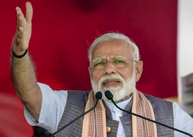 It's vote bhakti vs desh bhakti: PM attacks congress for not acting against Mumbai attack