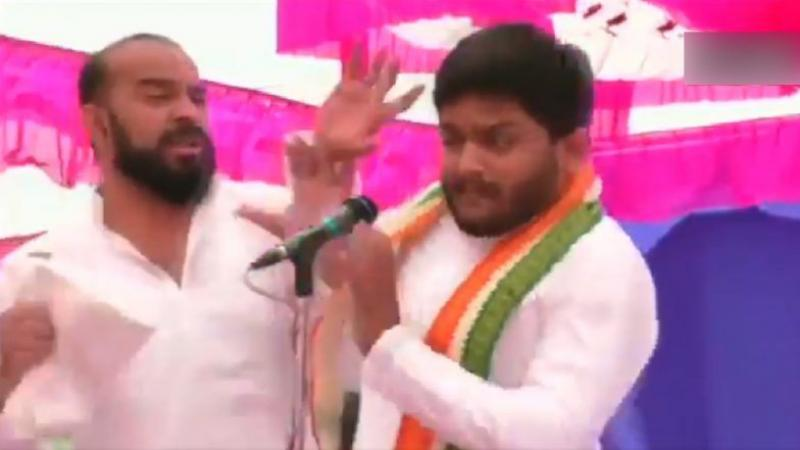 Congress asked EC to restore Hardik Patel Y+ security
