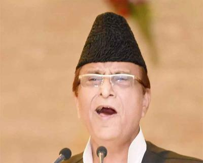 SP leader Azam Khan burst into tears says, being treated as a terror