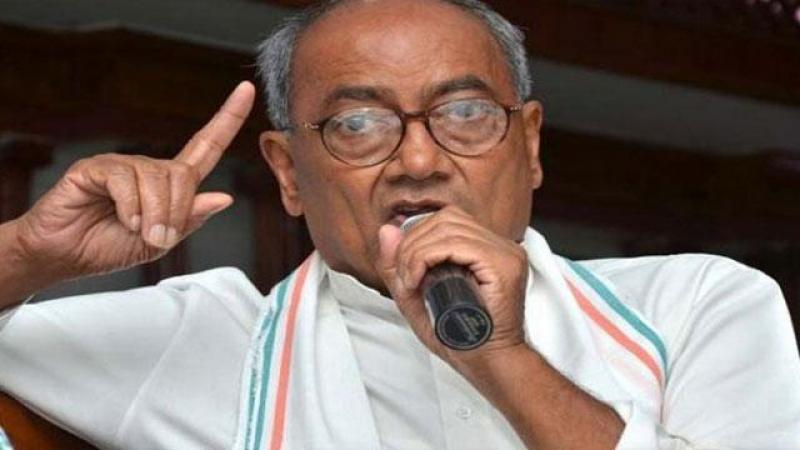 For RSS people Bharat Mata has no meaning: Digvijaya Singh