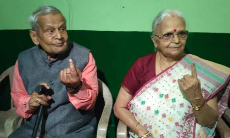 Goa Governor Mridula Sinha casts vote and asks people to vote