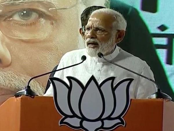PM Narendra Modi to address three public meetings today