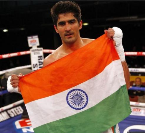 Congress field boxer Vijendra Singh against BJP MP Ramesh Bidhuri and AAP 's Raghav Chadha
