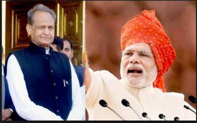 Rajasthan CM Ashok Gehlot targeted PM Modi on patriotism