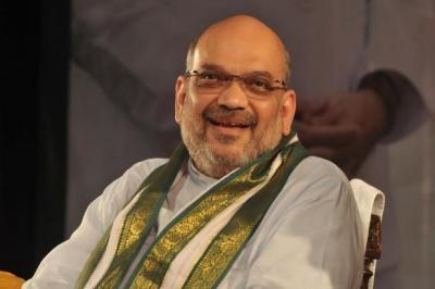 Amit Shah casts his vote in Gujarat