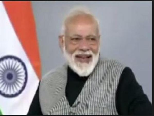 PM Modi takes a jibe on opposition's EVM manipulation claim