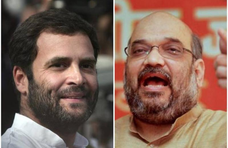 Rahul Gandhi calls Amit Shah murder accused, Amit Shah reminds him he was acquitted