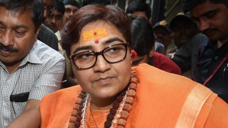 EC serves third notice to Sadhvi Pragya Singh Thakur  for calling terrorist to Digvijaya Singh