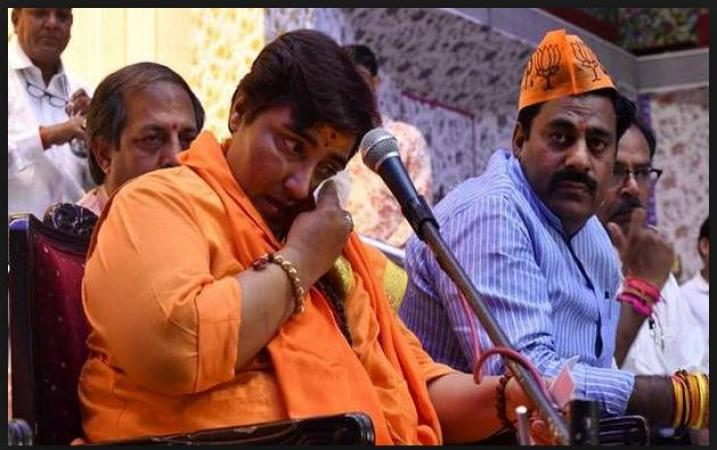 Sadhvi Pragya starts to face rejection from BJP's lone members over her obnoxious comments series