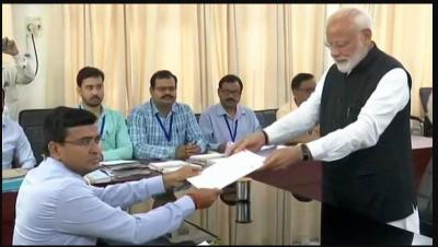 PM Narendra Modi filed his nomination from Varanasi