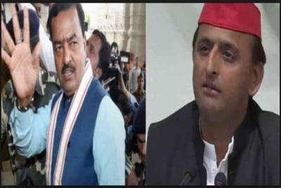 Just after Akhilesh Yadav coin new name to BJP, Keshav Maurya called new name to SP -BSP