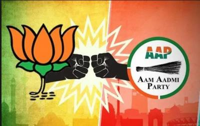 BJP leader Krishan Kumar joined AAP in Delhi