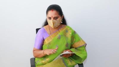 CM KCR daughter, MLC K Kavita set up a helpline number to assist covid patients