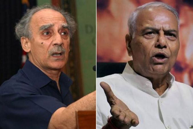 Former minister Arun Shourie and Yashwant Sinha target Modi Government on the Rafael deal