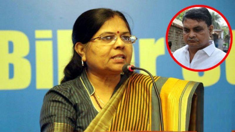 Bihar's Social Welfare Minister Manju Verma gives statement after resignation