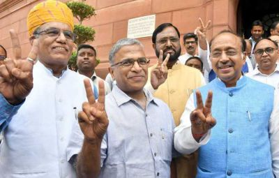Harivansh Narayan Singh elected as the Deputy Chairman of Rajya Sabha