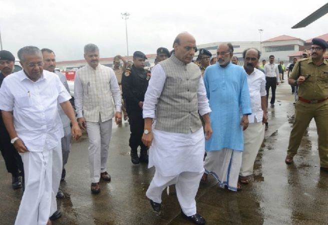 Home Minister Rajnath Singh to visit flood-affected Kerala today