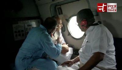 Rajnath Singh reaches Kerela to inspect the conditions