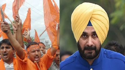 Bajrang Dal announces to award Rs 5 lakhs to the one who beheads Navjot Sidhu