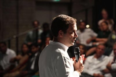 Sushma Swaraj has no job, spends time on people's visas: Rahul Gandhi hits BJP