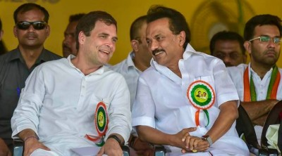 Rahul discuss poll strategies with Tamil Nadu senior Congress Leaders
